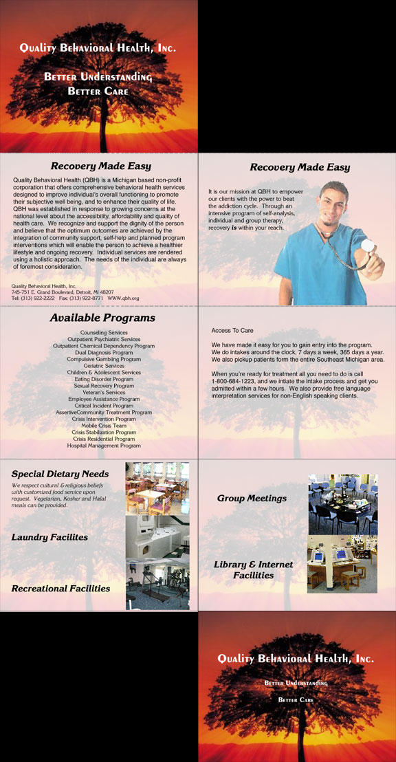 Mental Health Facility Brochure