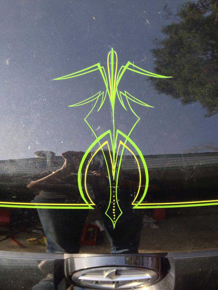pinstriping by Julie Fournier