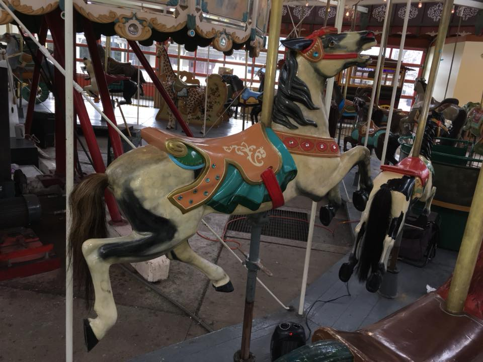 Restored carousel horse from The Henry Ford Museum, Greenfield Village, Dearborn, MI