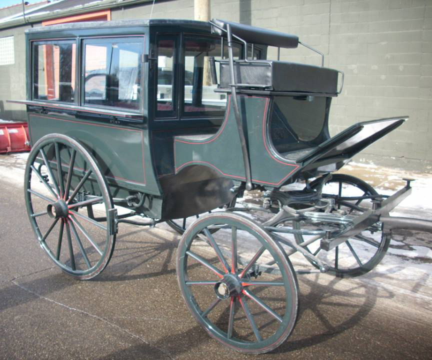 Martha Mary Horse Drawn Carriage